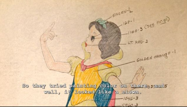 Snow White behind the scenes hyperion studios tour