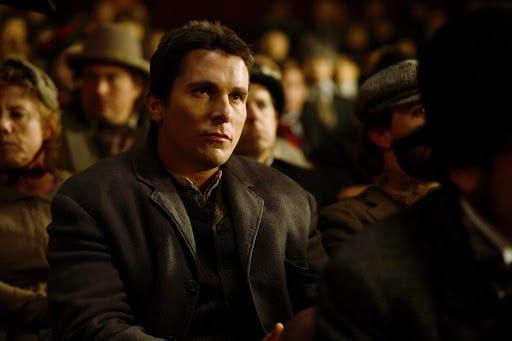 Alfred Borden (Christian Bale) in The Prestige