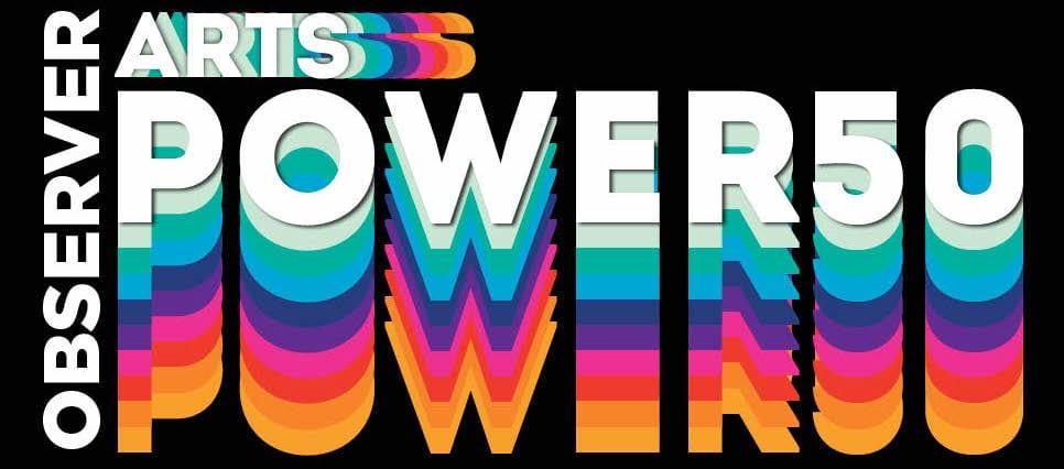 2020 Arts Power 50