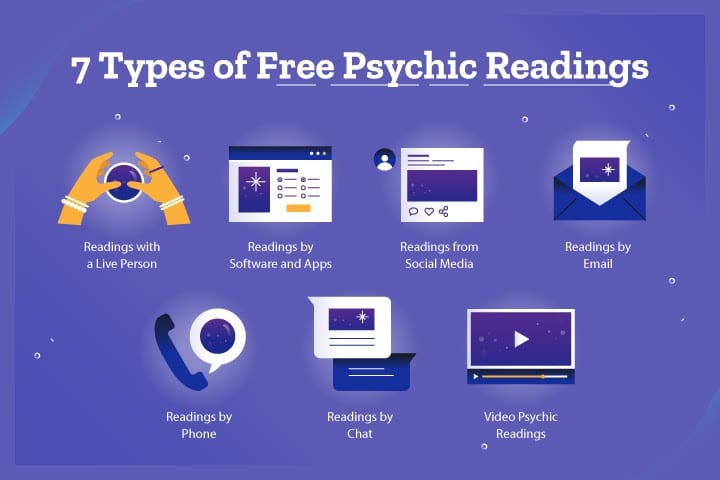 7 Types of Free Psychic Readings