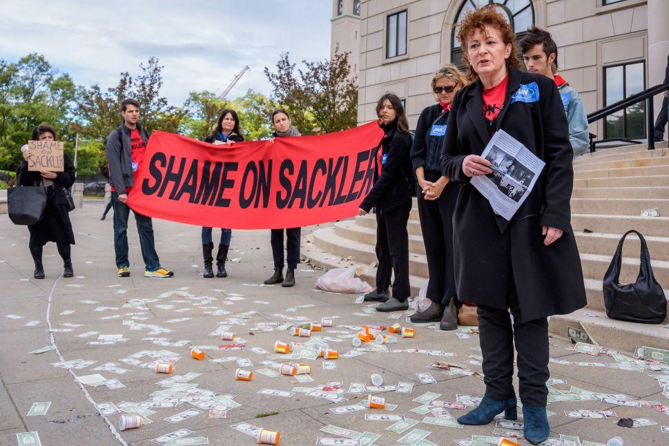 Nan Goldin Demands Punishment for Sacklers as Purdue Pharma Pleads Guilty