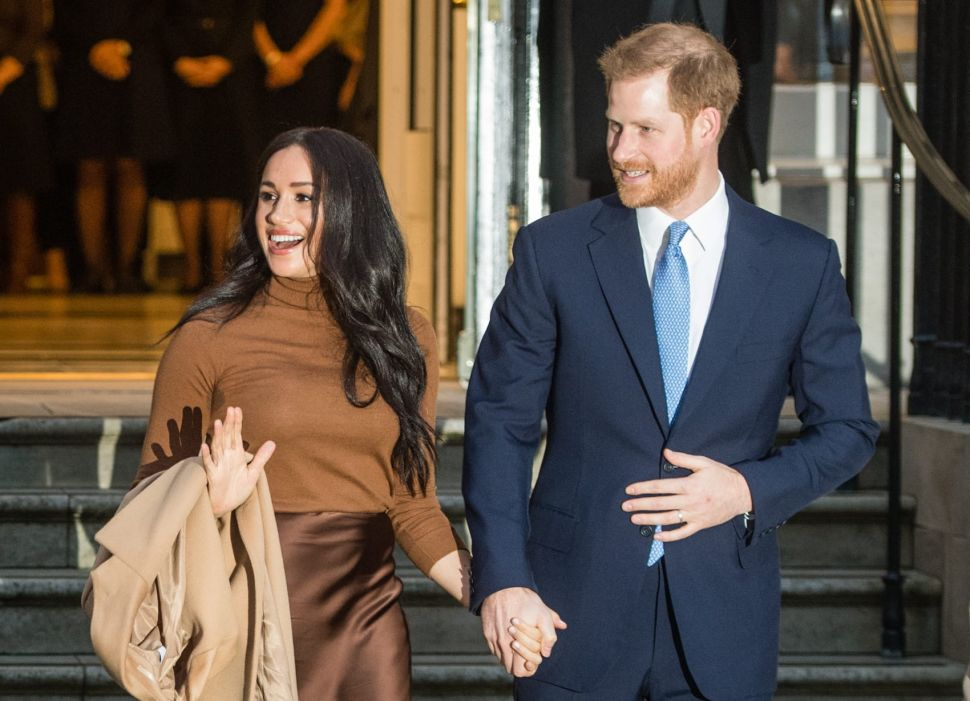 Prince Harry and Meghan Call for the End of Structural Racism in the U.K.