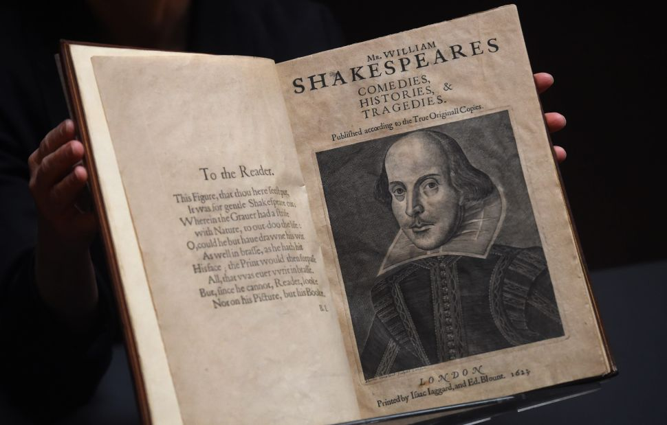 An Original Compilation of Shakespeare's Plays Just Set a New World Auction Record