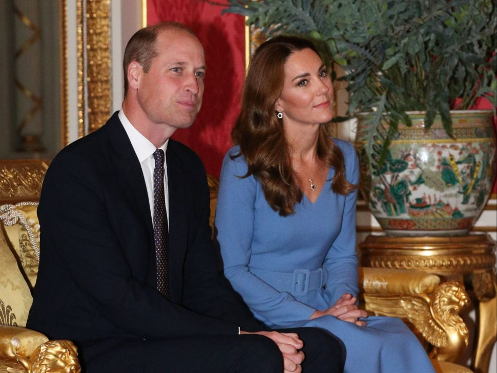 Prince William and Kate Hosted the First Royal Event at Buckingham Palace Since March