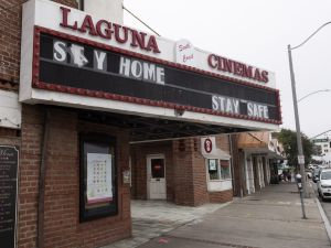 Movie theater closures box office coronavirus
