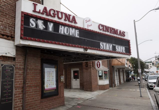 Movie theater closures box office coronavirus