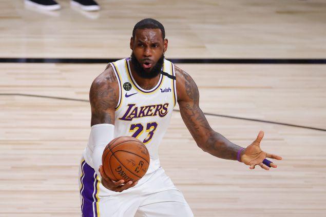 NBA Finals Ratings LeBron James Los Angeles Lakers