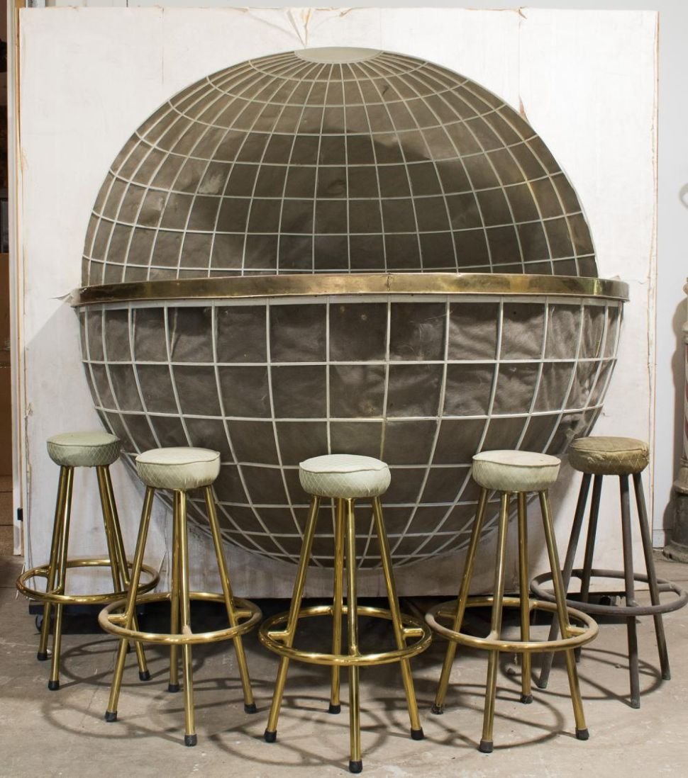 The Bizarre, Globe-Themed Bar From Hitler's Yacht Is Being Sold for $75,000