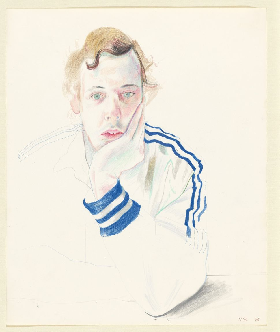 DavidHockney's Paintings Are World Renowned, But He Never Lost His Desire to Draw