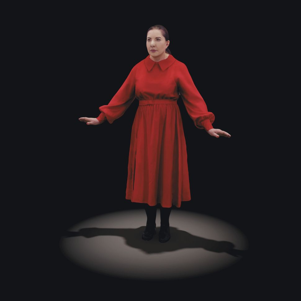 Marina Abramović's 'The Life' Will Be the First Mixed Reality Artwork Sold at Auction