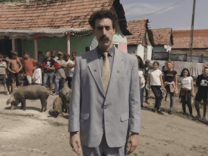 Amazon Borat 2 $80 Million