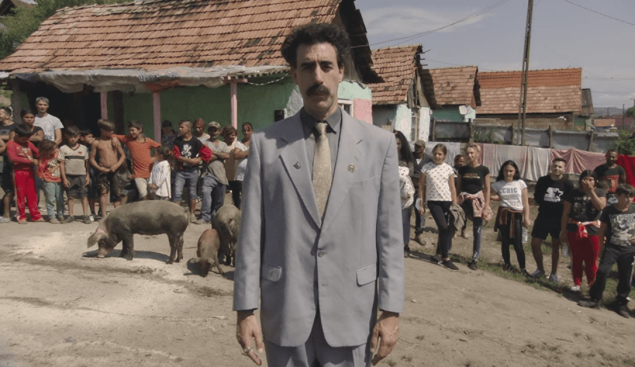 Amazon Borat 2 $80 Million