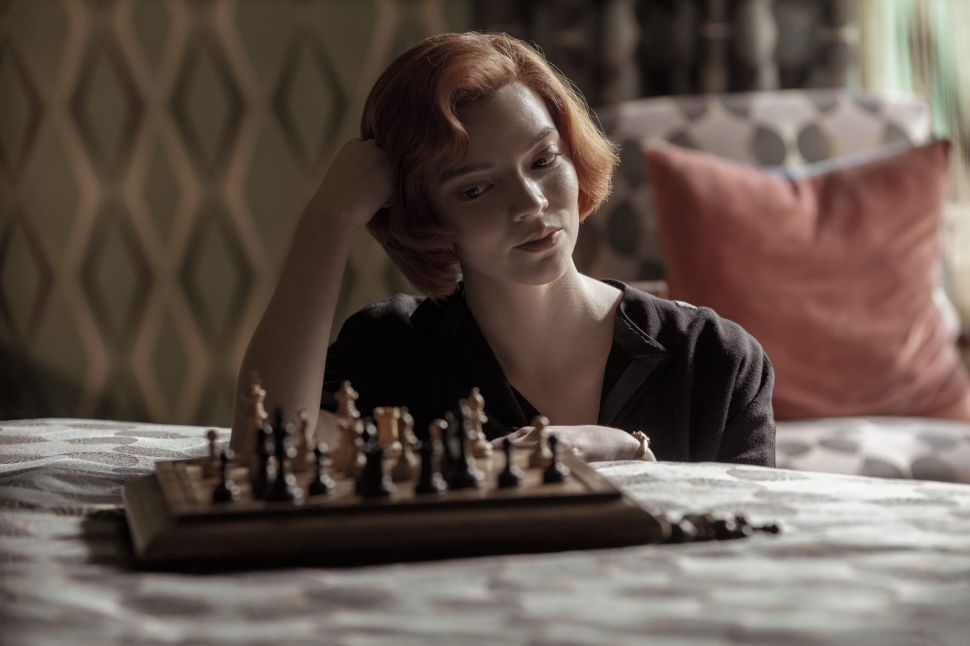 'The Queen's Gambit' Is a Chess Game Between Genius & Madness