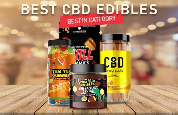 CBD Edibles—Top 5 & Buyer's Guide (Updated 2020)