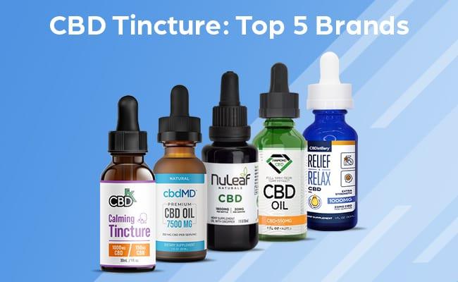 CBD Tinctures: Top 5 Brands & Buyer's Guide