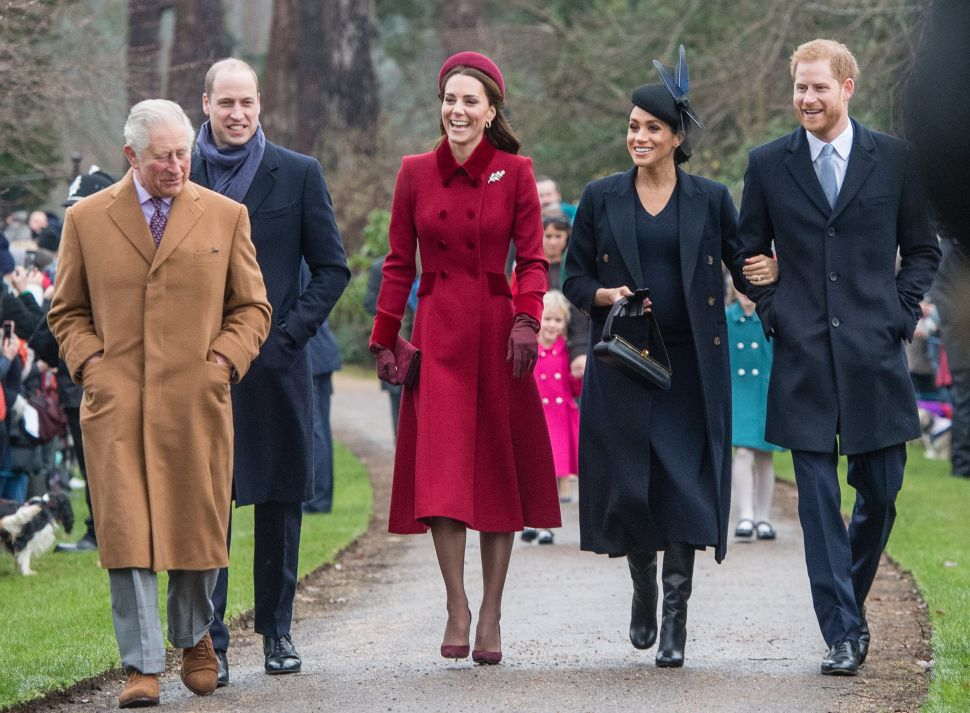 The Royals Are Upset They Won't Get to See Harry, Meghan and Archie for the Holidays