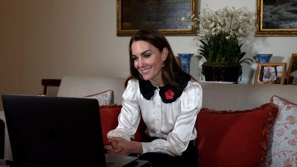 Kate Middleton Gave a Rare Peek Inside the Royals' Kensington Palace Home