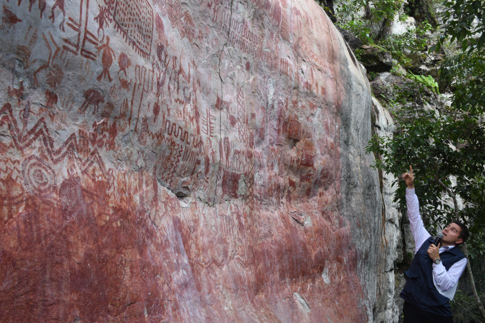 Miles of Prehistoric Colombian Rock Art Shown to the World in New TV Documentary