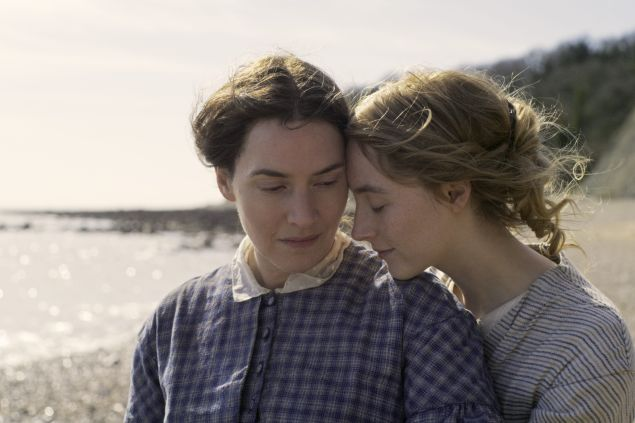 Kate Winslet and Saoirse Ronan star in Ammonite, directed by Francis Lee