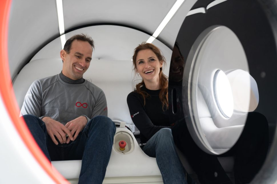 Virgin Hyperloop's First Passenger Reveals What It's Like Riding the Ultra-Fast Pod