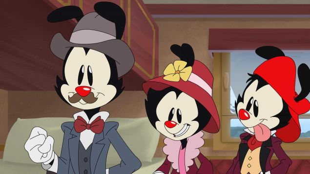 The Warner brothers, Yakko and Wakko, and the Warner sister Dot, are back to wreak havoc in a new reboot.