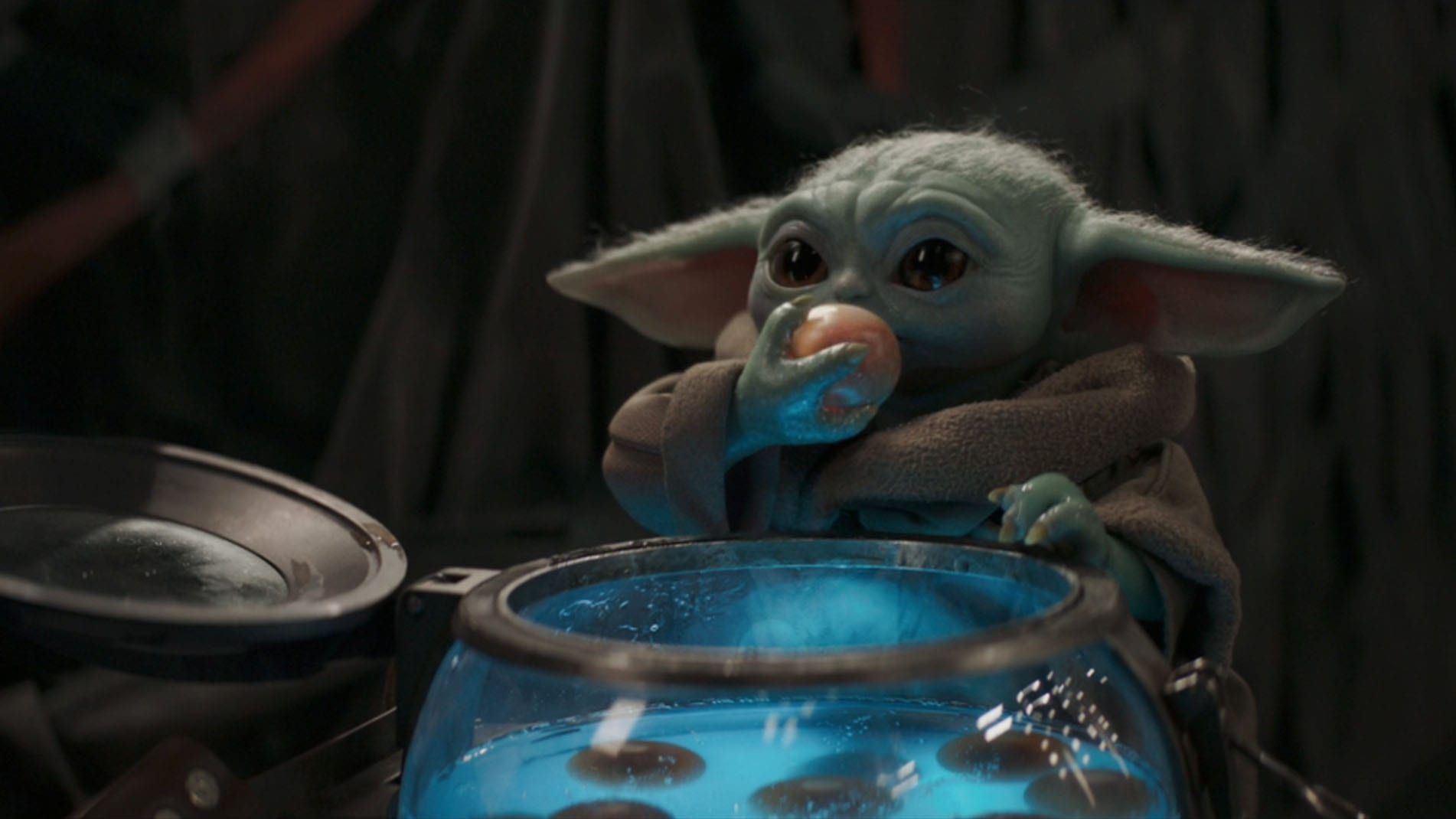 Mandalorian Baby Yoda Ate A Bunch Of Babies In The Passenger Observer