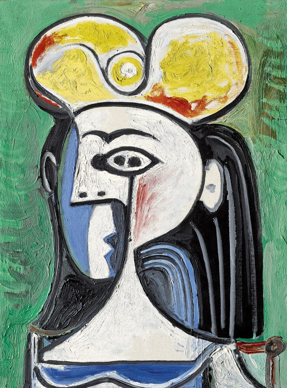 Picasso's Double-Profile Portrait of Jacqueline Roque Estimated to Sell for $12 Million