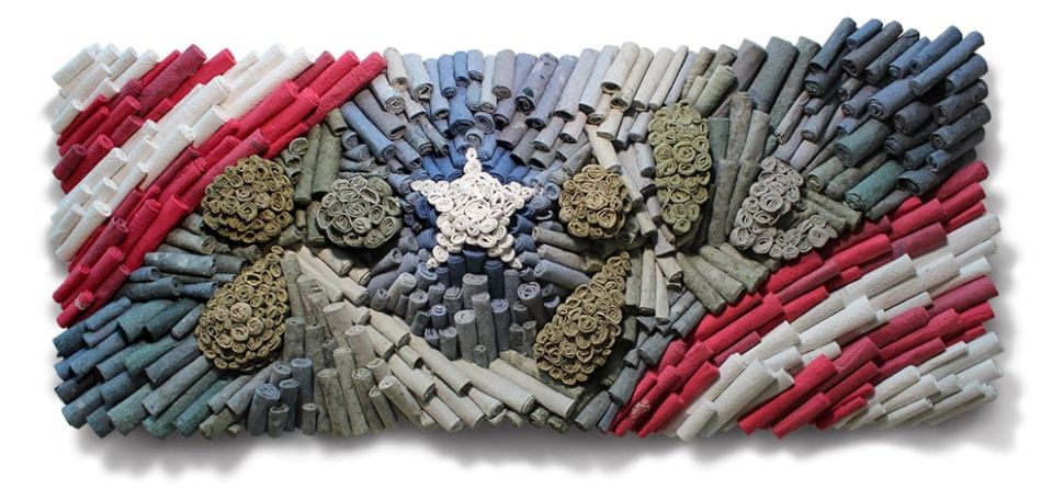 Google's Veterans Day Doodle Depicts a Sculpture Made From Military Uniforms