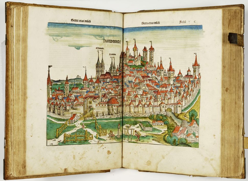 First Edition of the 'Nuremberg Chronicle' From 1493 Set to Sell for $300,000
