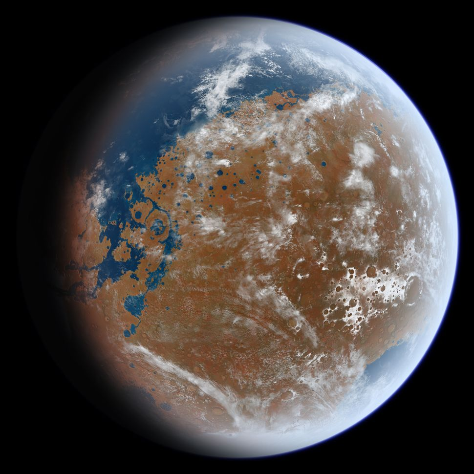 Breakthrough Invention Makes Water on Mars Useful to Humans, Colonizing Possible