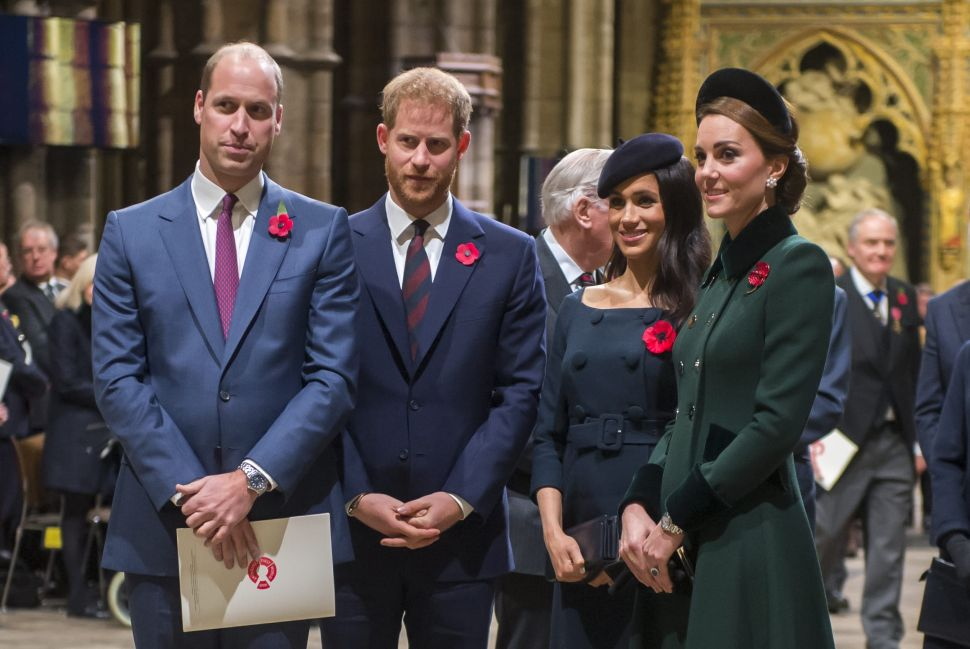 Prince Harry and Meghan Already Sent Prince William and Kate Christmas Gifts