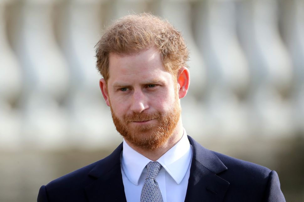 Prince Harry Is Suing a U.K. Tabloid for Libel