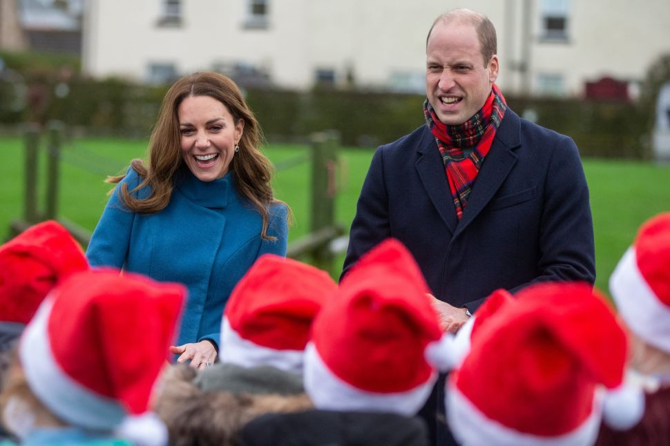 Prince William and Kate Are on the Most Festive Royal Train Tour of the U.K.