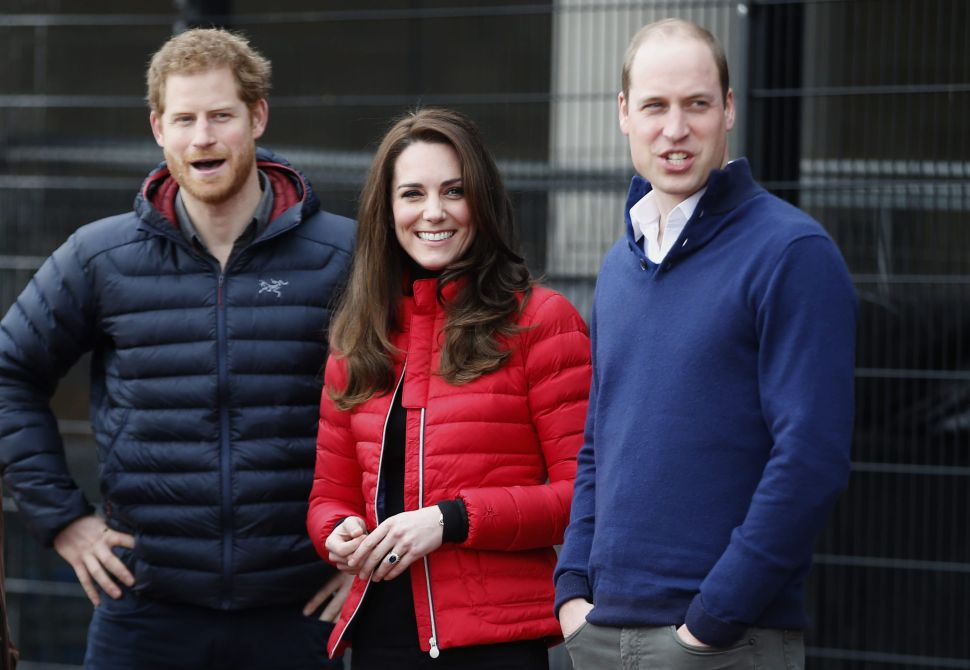 A Palace Staffer Sold Stolen Photos of Prince William, Kate and Prince Harry