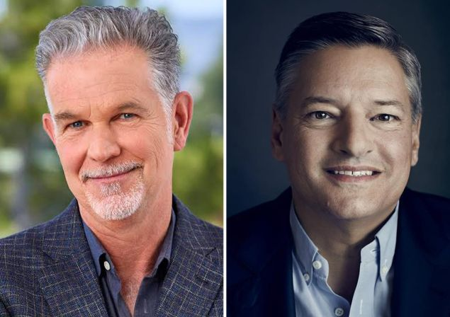 Reed Hastings and Ted Sarandos