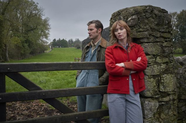 Jamie Dornan and Emily Blunt star in Wild Mountain Thyme