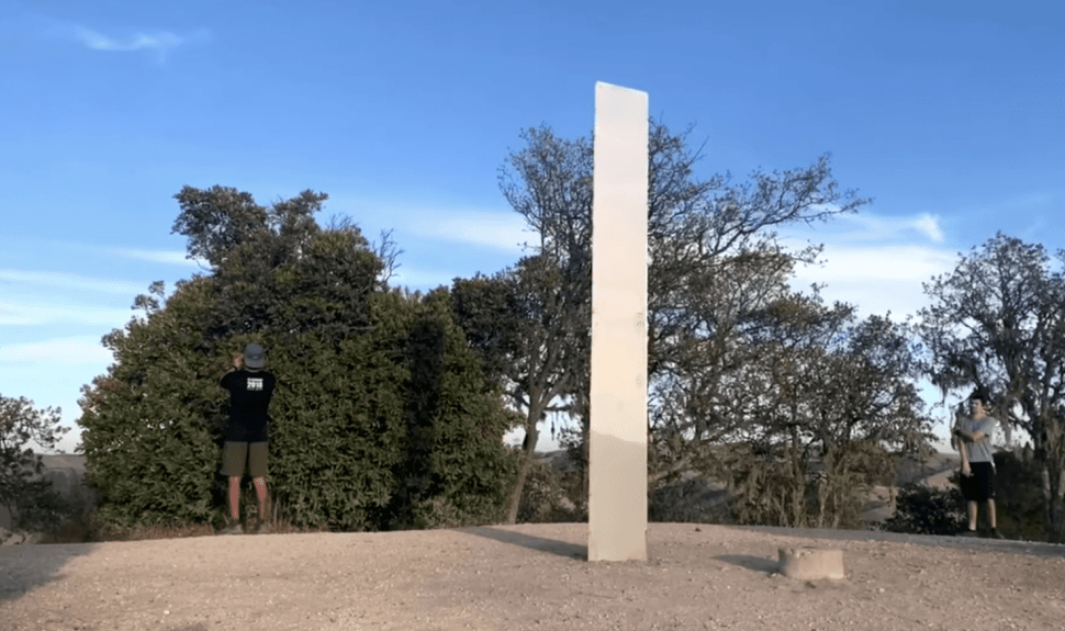 Third Mysterious Monolith, Appearing in California, Has Reportedly Disappeared