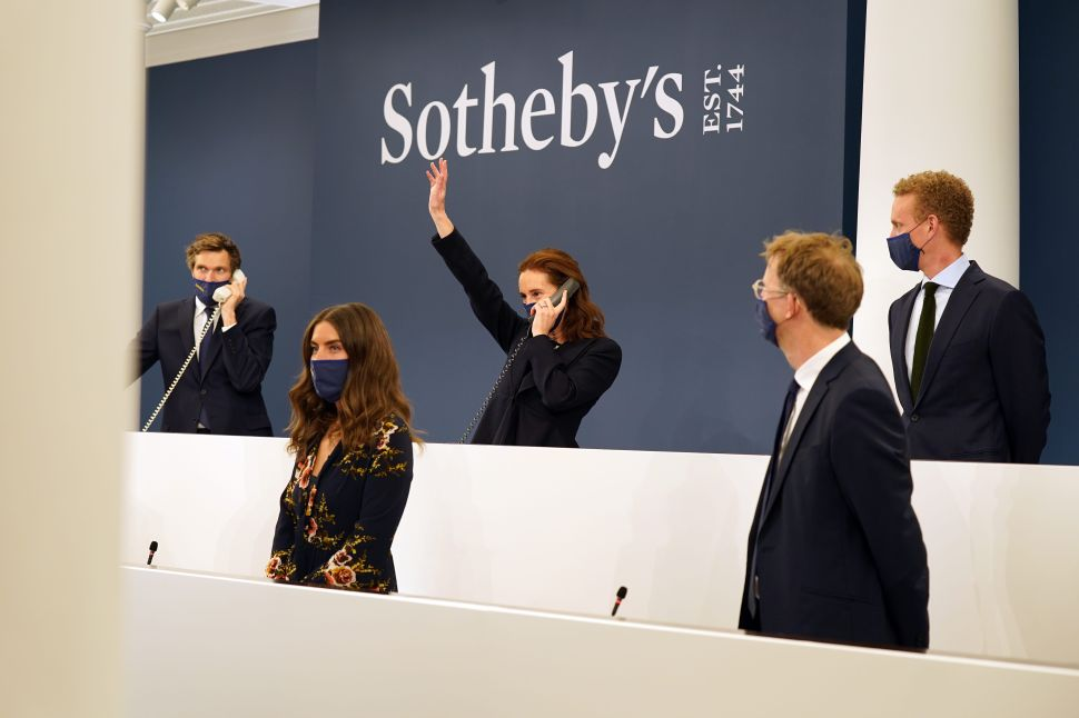 By Embracing Online Auctions, Sotheby's Pulled Over $5 Billion in Sales in 2020