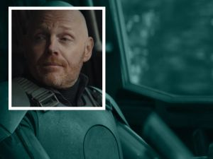 Bill Burr as Migs Mayfield in The Mandalorian