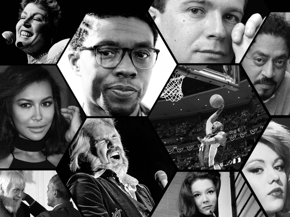An Observer Tribute to the Creative Talent We Lost in 2020