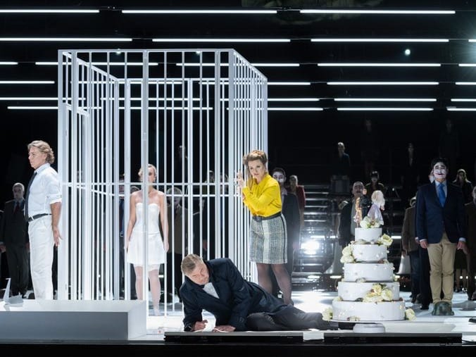 In Berlin, a Streaming 'Lohengrin' Evokes Doubt and Terror