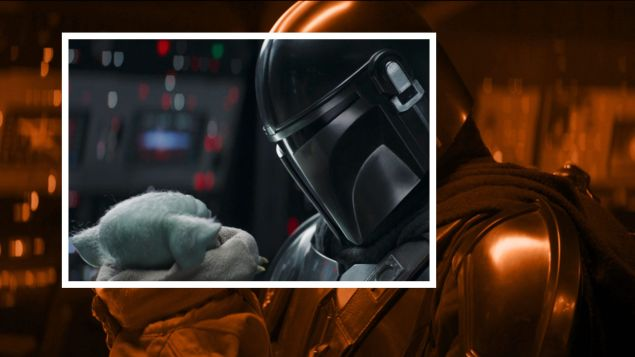"""""""The Rescue"""" from The Mandalorian."""
