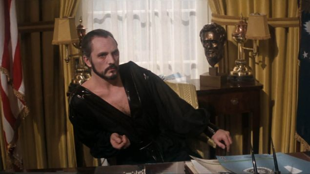 Terence Stamp as Zod in Superman 2