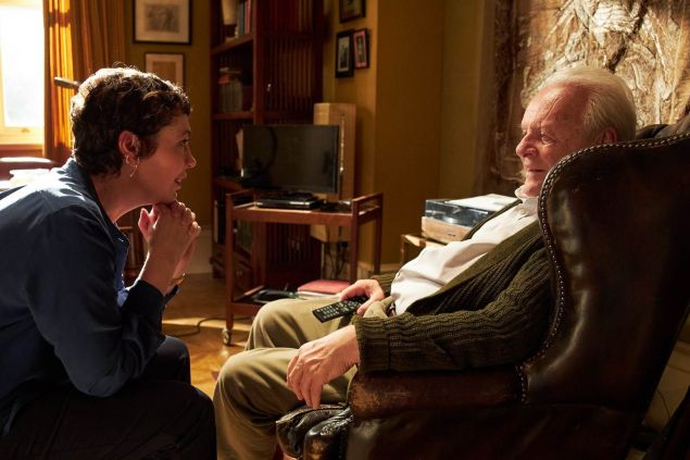 Olivia Colman and Anthony Hopkins star in The Father