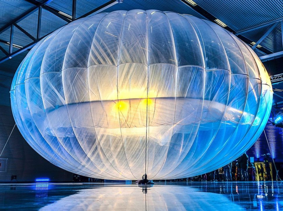 Google Kills Moonshot Project Loon, a 'Hot Balloon' Version of SpaceX Starlink