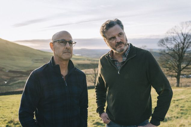 Colin Firth (right) and Stanley Tucci (left) star in Supernova, written and directed by Harry Macqueen