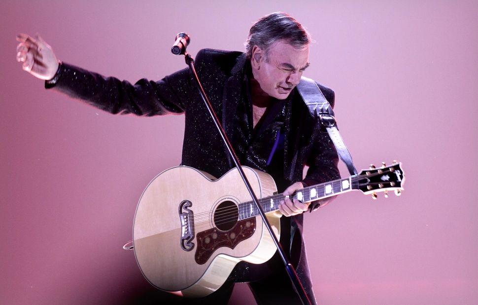 "Neil Diamond Gave Us ""America"" and Also Showed Us Its Limits"