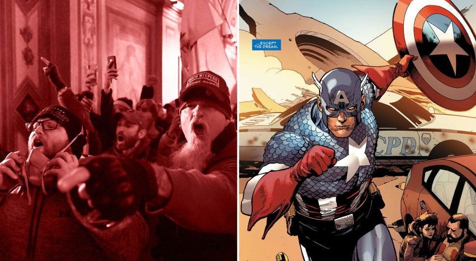 Captain America Is Anti-Fascist, But He Can't Escape American Fascism