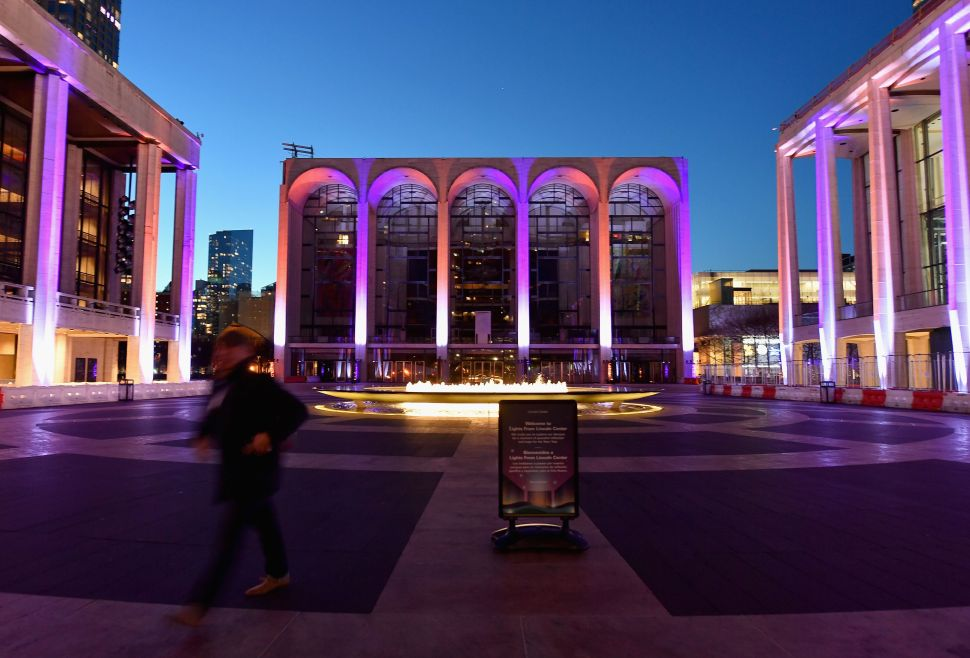 Lincoln Center to Launch Ten Outdoor Performance Spaces in April