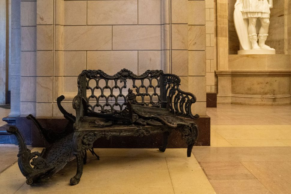 How Vulnerable is the Capitol Building's Art Collection to Another Attack?